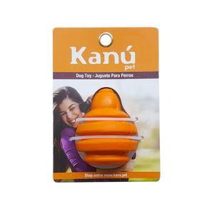 Juguete-Porta-Snack-Trombo-Naranja-Kanu-para-perro