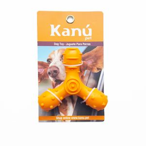 Juguete-Porta-Snack-Giro-Naranja-Kanu-para-perro
