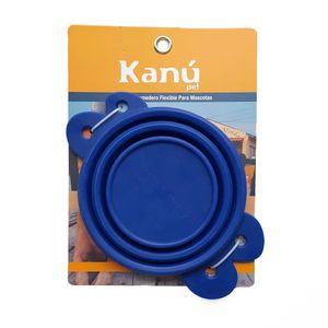 Comedero-Flexible-Azul-Kanu-para-perro