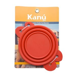 Comedero-Flexible-Rojo-Kanu-para-perro
