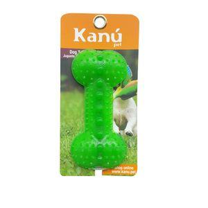 Juguete-Porta-Snack-De-Hueso-Verde-Kanu-para-perro