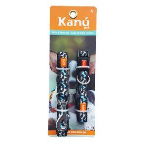 Combo-Correa-Y-Collar-Franjas-S-Kanu-para-perro
