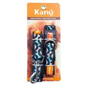 Combo-Correa-Y-Collar-Franjas-L-Kanu-para-perro