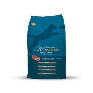Alimento-Nutra-Gold-libre-granos-Pez-blanco-2.25-Kg-para-perro