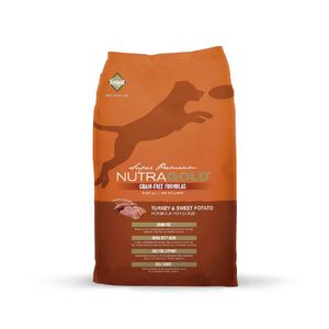 Alimento-Nutra-Gold-libre-de-granos-Pavo-2.25-Kg-para-perro