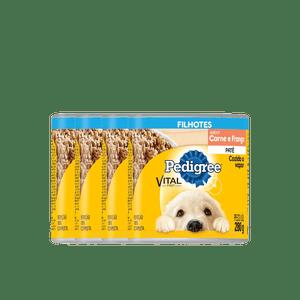 Pague-3-lleve-4-Alimento-Pedigree-Cachorro-Carne-y-Pollo-280-Gr-para-perro