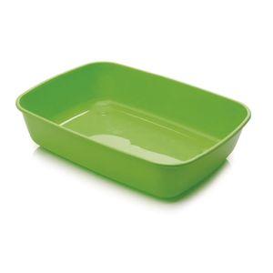 Iriz-Arenero-Sencillo-Pequeño-42X30.5X10Cm-Color-Verde-Limon-Para-Gato