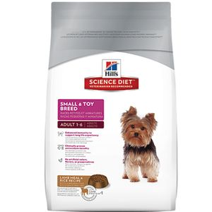 Alimento-para-perro---Hills-Adulto-Toy-Breed-Cordero-y-Arroz-4.5-Lb