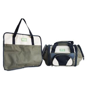 Bolso-de-tela-para-transporte-Animal-Planet-Verde
