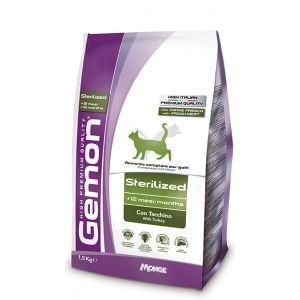 Alimento-para-gato---Gemon-Sterilized-Turkey-400-Gr