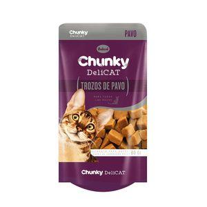 Alimento-para-gato--Chunky-Deli-Cat-Pavo-80-Gr