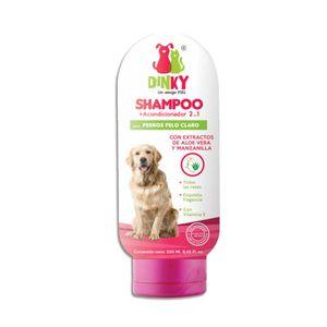 Dinky-Shampoo-Para-Perro-Pelo-Claro-250-Ml