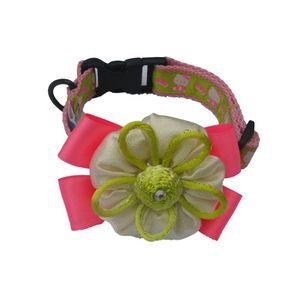 Collar-Rosa-De-Lujo-Talla-Xs-Para-Perro