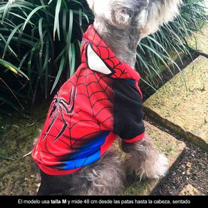 Disfraz-Buso-Hombre-Araña-Para-Perro-M