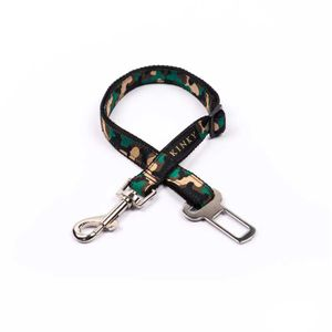 Kinky-Cinturon-De-Seguridad-Camo-Verde-Huesos-para-perro-