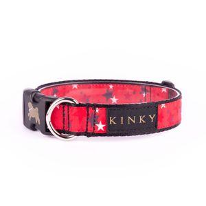 Kinky-Collar-Galactico-Rojo-para-perro-M