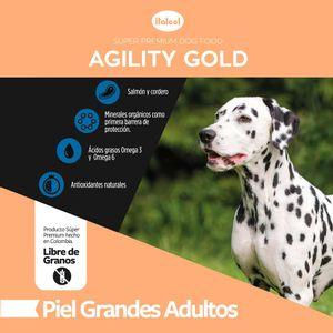Alimento-para-perro---Agility-Gold-Grandes-adultos-Piel--1.5-KG