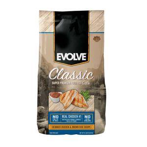 Alimento-para-gato--Evolve-Adulto-Pollo-y-Arroz-1.36-Kg