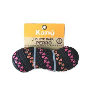 Juguete-de-Goma-Negro-Kanu-Para-Perro