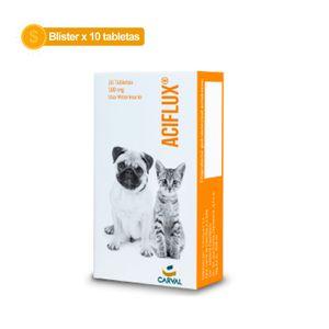 Aciflux-500-Mg-Blister-x-10-Tabletas-Para-Perro