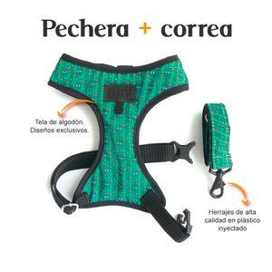 Pechera-y-Correa-Cactus-Fedele-Para-Perro-XS