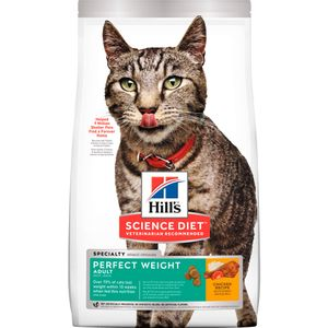 Alimento-para-gato---Hills-Adulto-Felino-Peso-Perfecto-3-Lb