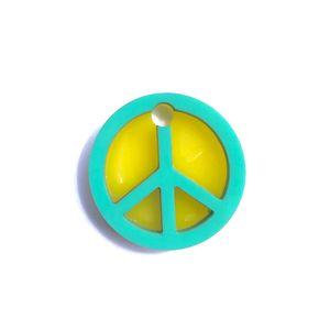 Medalla-Amor-y-Paz-Para-Perro---Pequeña