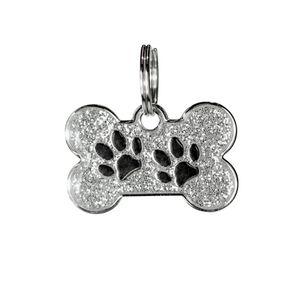 Medalla-Blanca-Huellas-Ref-4-Para-Perro