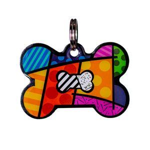 Medalla-Hueso-Multicolor-Para-Perro