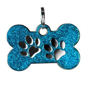 Medalla-Azul-Huellas-Ref-31-Para-Perro---Pequeña