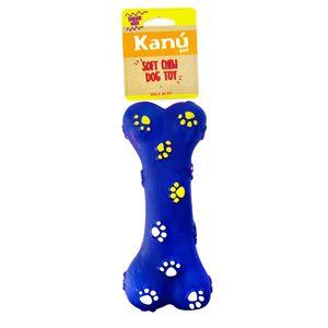 Juguete-Kanu-Hueso-Azul-Para-Perro
