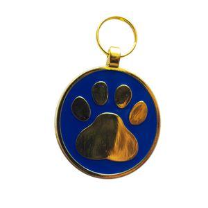 Medalla-Huellas-Azul-Ref-17-Para-Perro