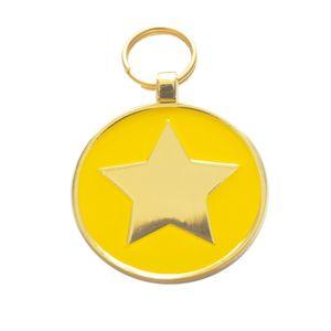 Medalla-Estella-Amarilla-Ref-18-Para-Perro