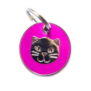 Medalla-Fucsia-Ref-22-Para-Gato