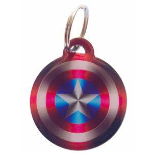 Medalla-Capitan-America-Ref-42-Para-Perro