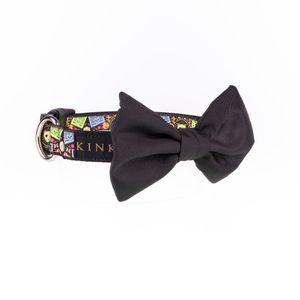 Kinky-Collar-Negro-Banderilla-Corbatin-M