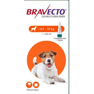 Antipulgas-Bravecto-Spot-On-4.5-a-10-KG-Para-Perro