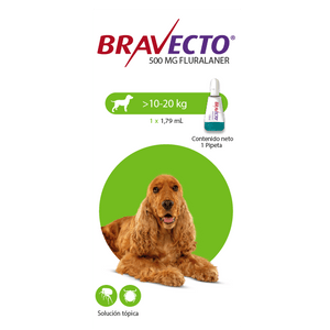 Antipulgas-Bravecto-Spot-On-10-a-20-KG-Para-Perro