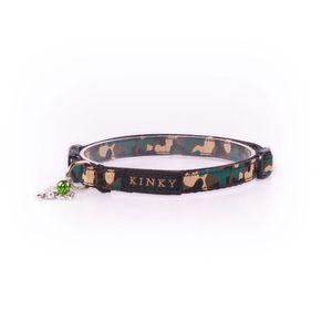 Kinky-Collar-Mini-Negro-Camo-Verde-Huesos