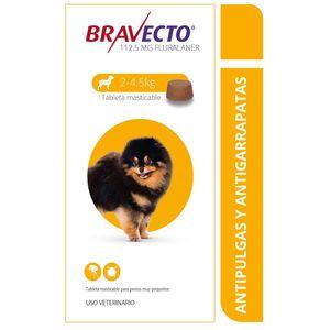 Antipulgas-Bravecto-de-2-a-4.5-kg-para-perro-Nueva-Imagen