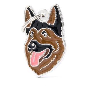 Medalla-Pastor-Aleman-Para-Perro