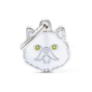 Medalla-Persa-Blanco-Para-Gato-Nueva-Imagen