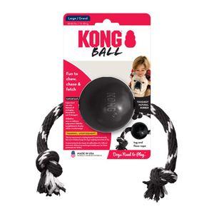 Juguete-Kong-Pelota-Caucho-Con-Lazo-Extreme-Para-Perro-L