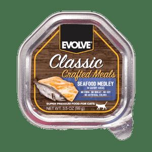 Alimento-Para-Gato---Evolve-Classic-Sabores-De-Mar-99-Gr