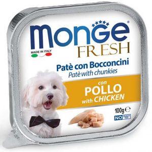 Alimento-Para-Perro---Monge-Fresh-Pate-Pollo-100-Gr