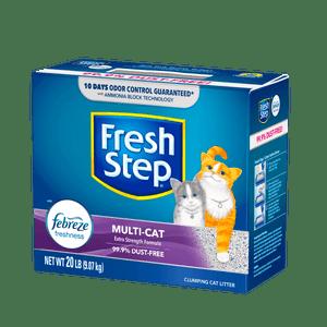 Arena-Para-Gato-Fresh-Step-Multi-Cat-20-LB