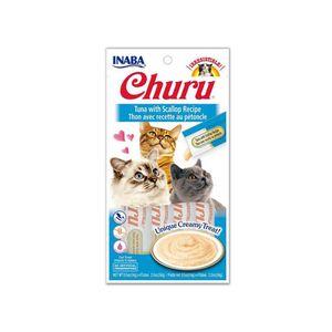 Alimento-Para-Gato---Inaba-Churu-Atun-y-Viera-x-4-Unid