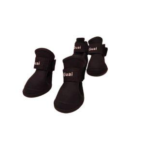 Zapato-De-Lluvia-Negro-Para-Perro
