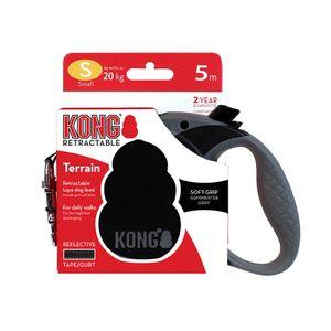 Correa-Kong-Retractil-Negra-Para-Perro-S