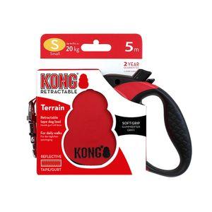 Correa-Kong-Retractil-Roja-Para-Perro-S